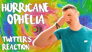 HURRICANE OPHELIA AFTERMATH! (Twitter Reaction) *Funny*