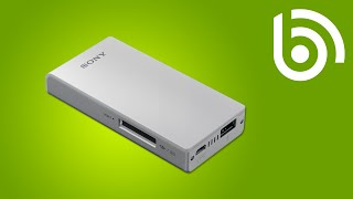 Sony WG-C10 WiFi Hard Drive Introduction