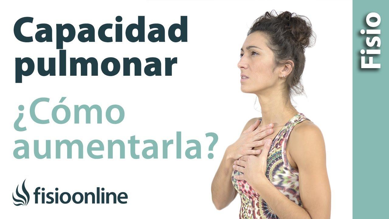 Cómo Aumentar La Capacidad Pulmonar Desde La Visión De La Fisioterapia Respiratoria Youtube