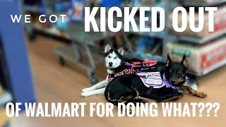 We Got kicked out of Walmart for WHAT?!?