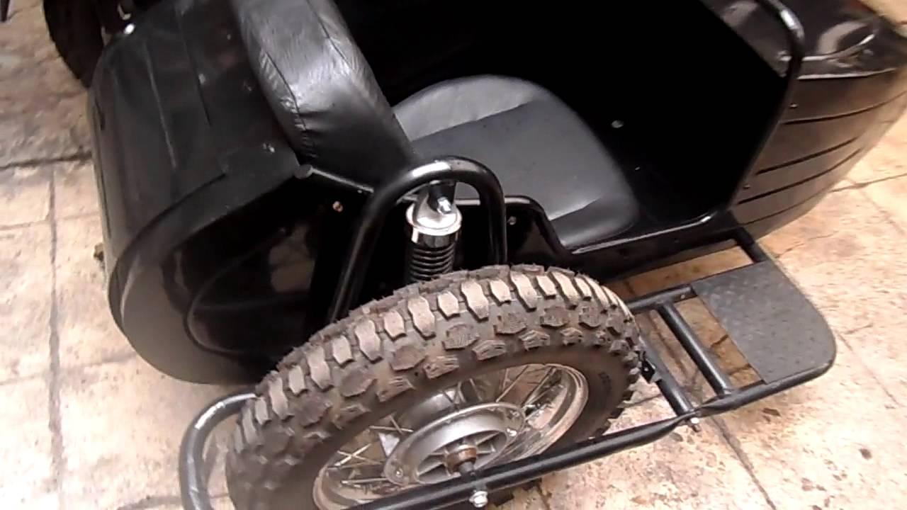 Carros laterales para moto detalles youtube for Coches con silla para carro