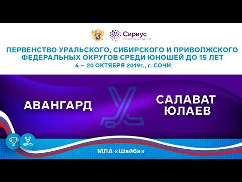 Хоккейный матч. 5.10.19. «Авангард» - «Салават Юлаев»