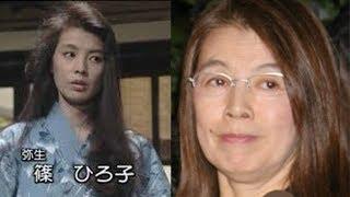 現在、篠ひろ子は仙台で犬と夫・伊集院静とともに主婦として生活中のよ...