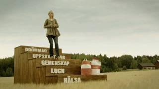 Kicki i Middagsfrids reklamfilm för TV4, 20 s 1280x720 i HD