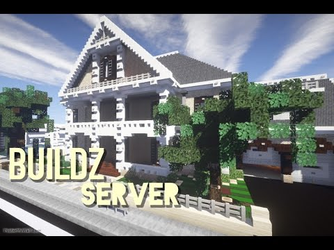 Minecraft: Buildz Server/ Traditional Mansion Pt1