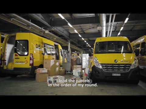 Michael, Parcel Carrier At Swiss Post