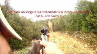 Sangliers.Caméra embarquée du 23 et 30 mars 2013 .DRIFT HD 1080P avec télécommande