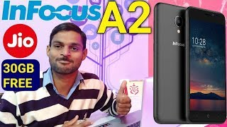 InFocus A2 With 4G VoLTE Support and 30GB Free Data Offer from Jio Launched in India