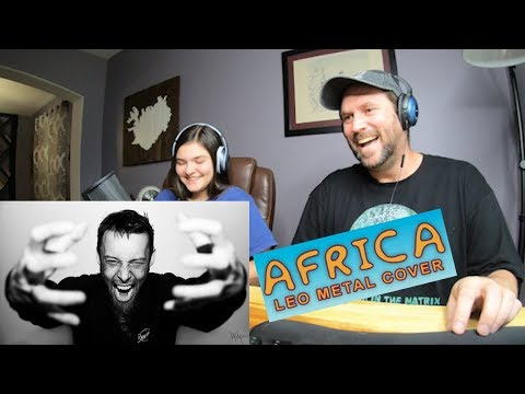 Leo Moracchioli | Africa - Metal Cover | Fourteen Year-Old Reaction PART 1