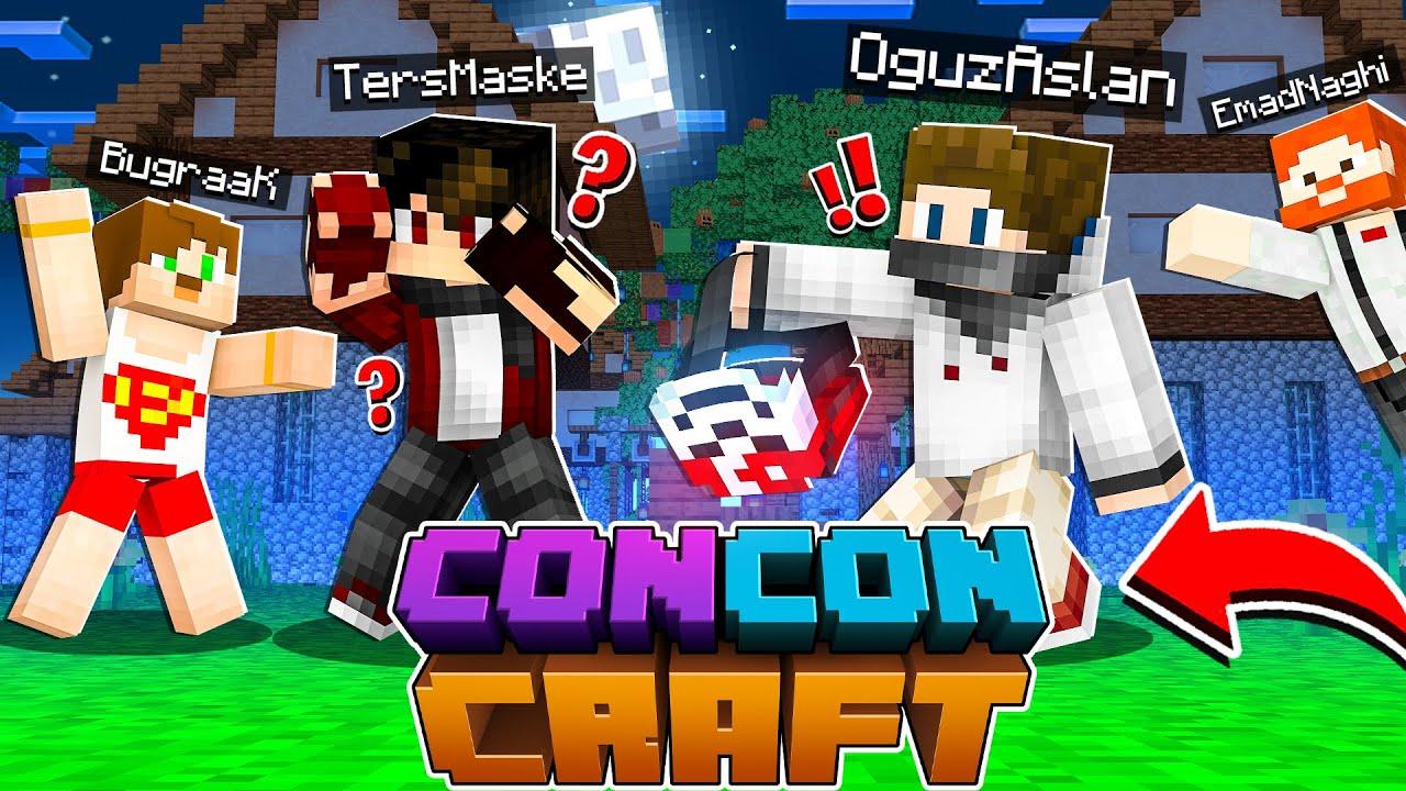 TERS MASKENİN KAFASINI ÇALDIM! - Minecraft CONCONCRAFT #13