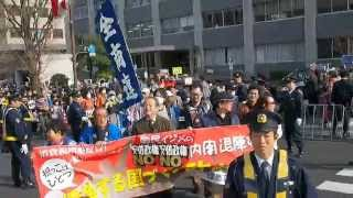 2015.03.22「安倍政権NO!☆0322大行動」巨大請願デモ⑧【23/25】