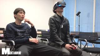 「PlayStation VR」「ニンテンドースイッチ」を体験するメンズノンノモ...
