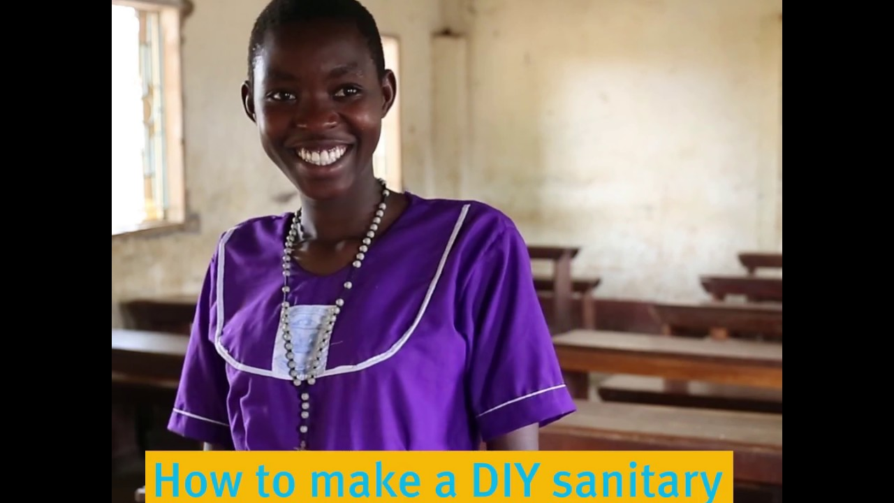 cc4a32a754df99 How to make your own sanitary pad | WaterAid - YouTube