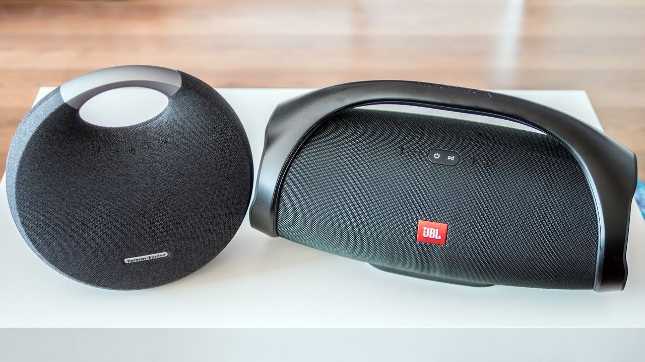 Harman Kardon Onyx Studio 5 vs JBL Boombox
