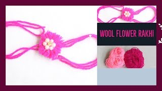 DIY : /How to make Wool Rakhi Handmade / Rakhi new model
