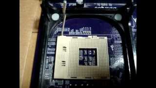 How to install a Socket 478 Intel CPU