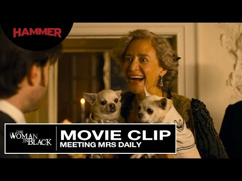 The Woman in Black / Meeting Mrs Daily (Official Clip) HD