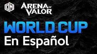 Aov World Cup en Español | Arena Of Valor | DayMelto Gameplay Español