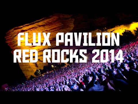 "Flux Pavilion ""Gold Dust"" Red Rocks 2014"