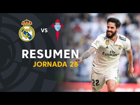 Resumen de Real Madrid vs RC Celta (2-0)