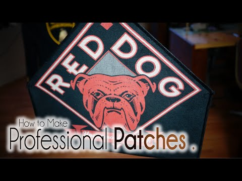 DIY | How to Make Professional Patches.