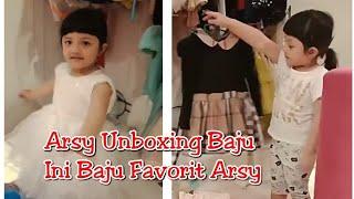 Arsy Unboxing Baju2