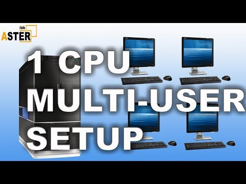 Single CPU Multi user setup ( No Extra Hardware / No Virtual