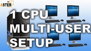 Single CPU Multi user setup ( No Extra Hardware / No Virtual Machine)