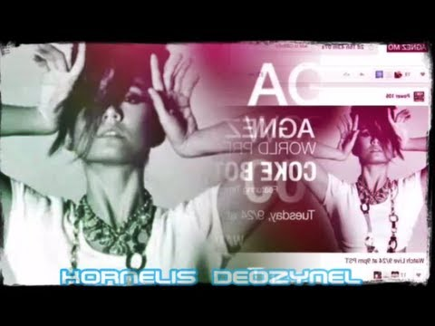 Agnezmo Coke Bottle World Premiere of Agnes Monica Single Coke Bottle Music Video