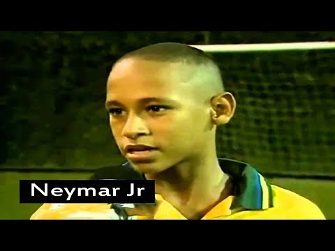 Football Players As Kids ● Crazy Skills ● Back To The Future