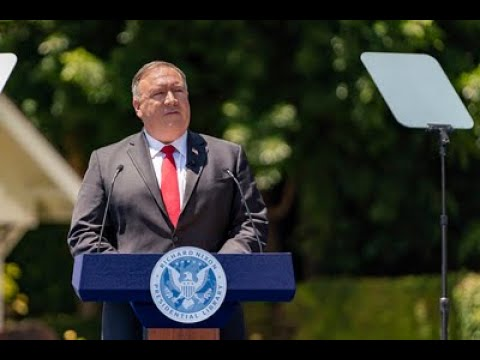 Communist China and the Free World's Future: Secretary Pompeo at the Nixon Presidential Library