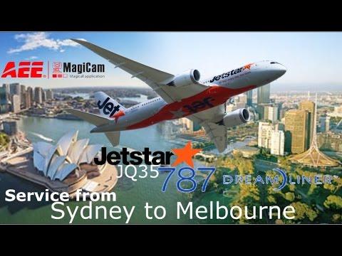 Real Flight: Jetstar 787, Sydney to Melbourne as JQ35