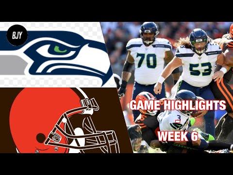 Browns vs Seahawks Week 6 Highlights | NFL 2019