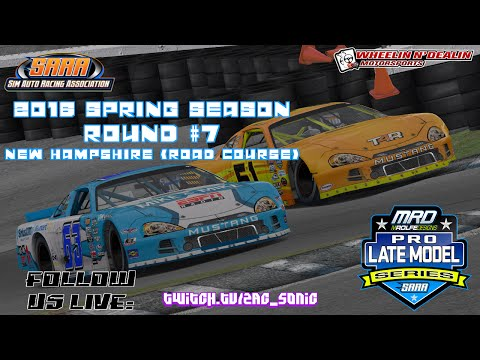 SARA Pro Late Models Round 7 @ New Hampshire (Road) | 2016 S