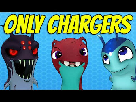 Slugterra Slug it out ! | ONLY CHARGER SLUGS CHALLENGE (Awesome combo)