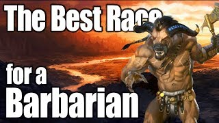 D&D Barbarian 5e- Best Race in 5th Edition Dungeons and Dragons