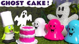 Funny Funlings Spooky Ghost Cake with New Chef Funling - A Fun story for kids and children