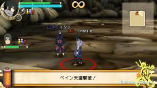 Naruto Ultimate Ninja Impact - All 4 Secret DLC Missions Playthrough w/ Downloads [720p]