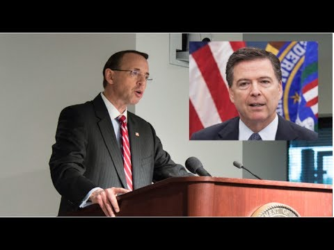DEPUTY ROSENSTEIN JUST DESTROYED JAMES COMEY WITH ONE SENTENCE!