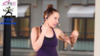 Fight Basics Fun Fast Fight Track - Claire - 10 Min Superset - Move123