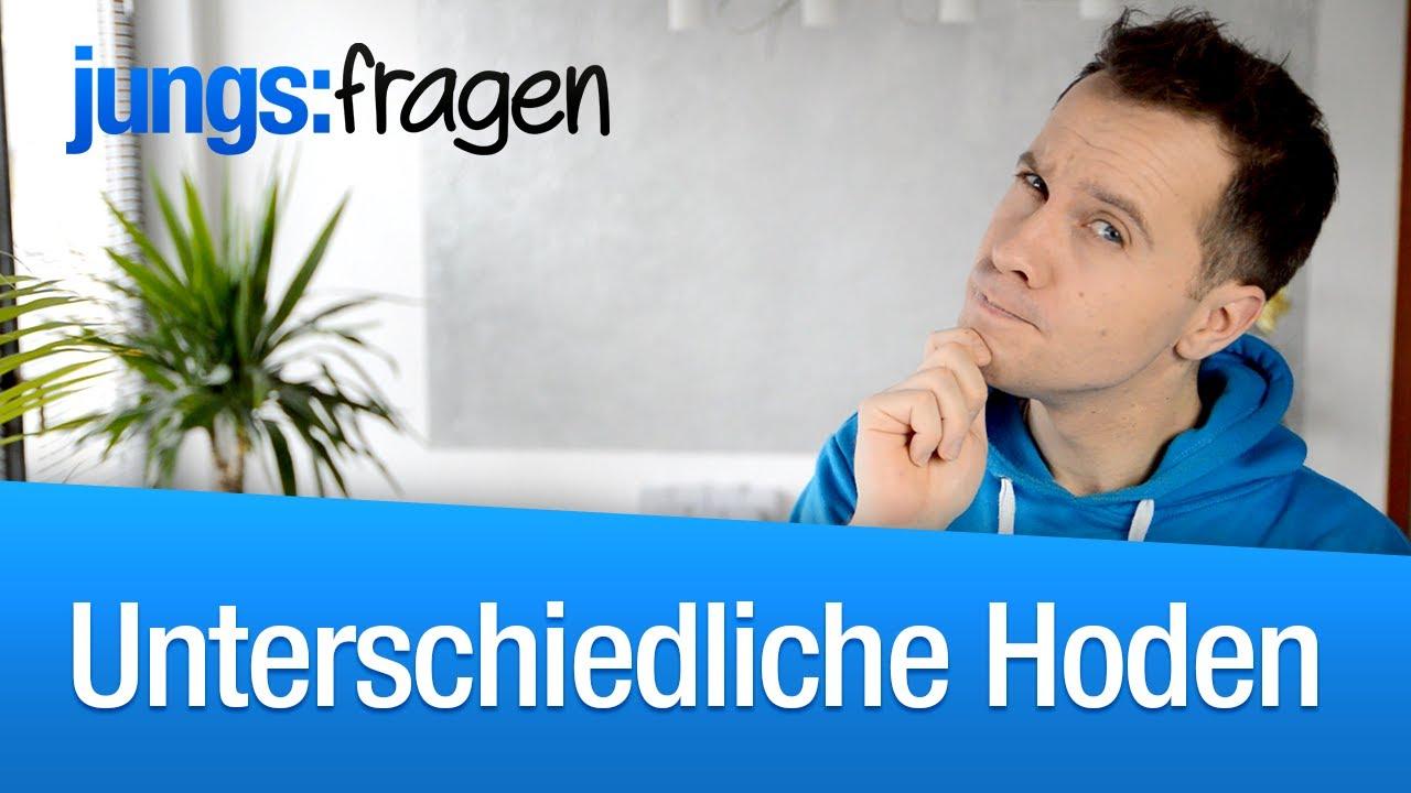 Unterschiedliche Hoden normal? | jungsfragen.de - YouTube