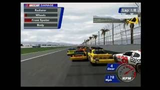 NASCAR Heat 2002 Blowovers #2