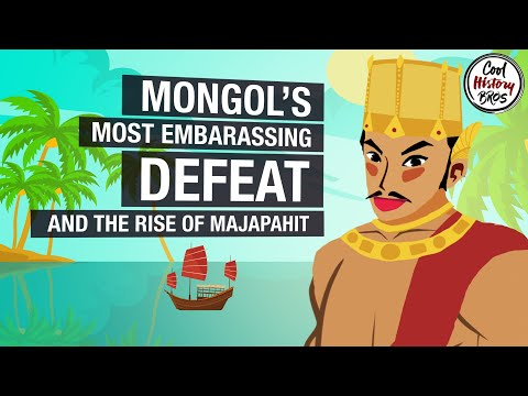 The Mongol Invasion of Java and the Rise of Majapahit