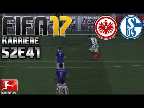 FIFA 17 KARRIERE ⚽️ S02E41 • 26. SPIELTAG: E. Frankfurt vs. Schalke 04