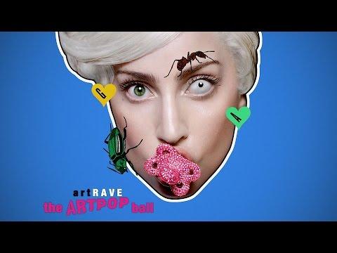 Lady Gaga's artRAVE: - ARTPOP (Opening Intro) - DJ White Shadow