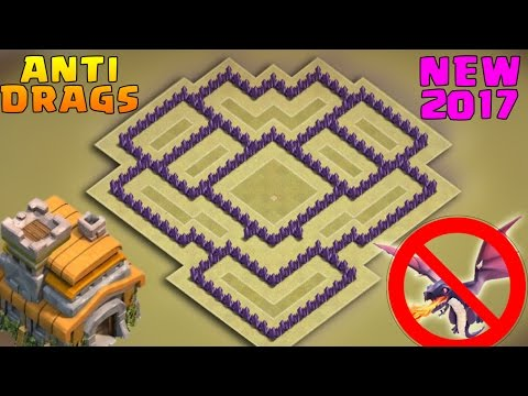 Clash Of Clans (CoC) | Best Town Hall 7 War Base | TH7 Anti Drag /Anti Hog/Anti Giants War Base 2017