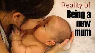 Reality of Being a New Mother