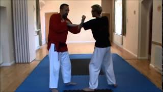 Kajuen Ryu Karate Jitsu: Bunkai to the opening sequence of Pinan/Heian Godan