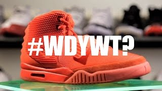 I LOVE ALL RED SNEAKERS!!   #WDYWT?