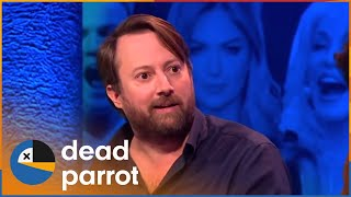 David Mitchell Finds Cure For Crack Addiction  Big Fat Quiz Of The Year 2014 BEST OF  Dead Parrot